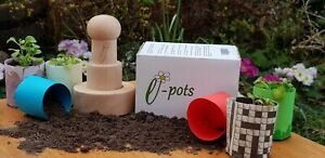 Paper Pot Maker Makes Biodegradable SeedIing Pots in Plastic Free Packaging