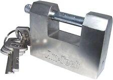 70 mm acciaio Shutter Lucchetto Heavy Duty ad Alta Sicurezza Garage Capannone CONTENITORE NUOVO
