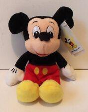 Walt Disney World Mickey Mouse Plush Soft Toy Tv Film Animal Figure Doll W. Tag