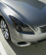 FOR 08-13 G37 COUPE HEAD LIGHT PRECUT SMOKE TINT COVER SMOKED OVERLAYS