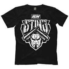 """Official AEW - All Elite Wrestling : Sting """"Justice"""" T-Shirt"""