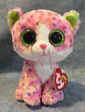 Ty Beanie Boos Glubschi Sofía gato Rosa 15cm