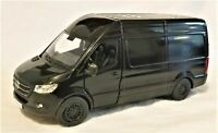 Kinsmart - 1:48 Scale Model Mercedes-Benz Sprinter Black (BBKT5426DBK)