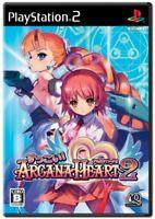 USED PS2 Omg! Arcana Heart 2