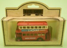 LLEDO Days Gone 15005 1932 AEC REGENT BUS LONDON CINZANO metal model MINT