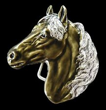Horse Belt Buckle Horses Equestrian Animals Western Boucle de Ceinture
