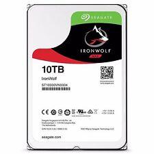 "Seagate IronWolf 10TB 3.5"" SATA Internal NAS Hard Drive HDD 7200RPM 256MB Cache"