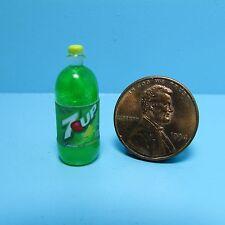 Dollhouse Miniature Replica 2 Litre Bottle of 7Up ~ G099