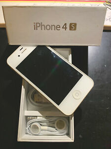 Apple iPhone 4S - 16GB - White (AT&T) A1387