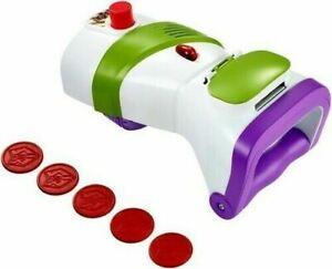 Disney Pixar Toy Story 4 Buzz Lightyear Wrist Rapid Disc Blaster Kids Action Toy
