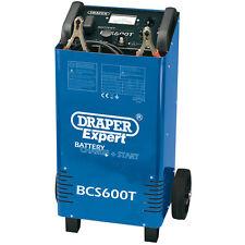 Draper 12/24V 500A Batería Cargador/Arrancador para coches y anuncios 40181