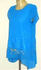 Unbranded Cap Sleeve Geometric Tops & Blouses for Women