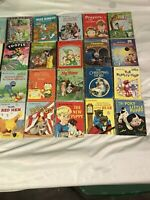 Lot Of 31 Vintage Little Golden Books Free Shipping