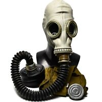 Soviet Russian military Gas mask GP-5 with hose NATO Filter CF F3 NBC 40 mm NEW