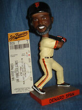San Francisco Giants 2016 Denard Span Bobblehead w/Ticket 9/12 SGA Bobble SF