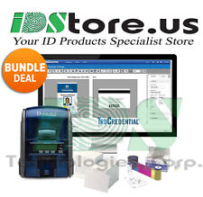 Datacard SD160 Single Side Photo ID Card Printer System