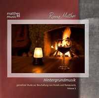 Hintergrundmusik, Vol. 5 [Gemafreie Musik CD für Restaurants inkl. Klaviermusik]