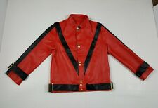 Michael Jackson ThrIller Jacket Boy's M Jerry Beck Charades Halloween Pvc