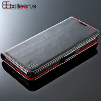 Original Flip Magnetic Leather Wallet Card Case Cover for Samsung Galaxy S8 Plus