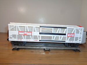 AMERICAN FLYER S GAUGE # 6-48507 SET OF 2 U.S. ARMY FLAT CARS WITH TANKS - NEW