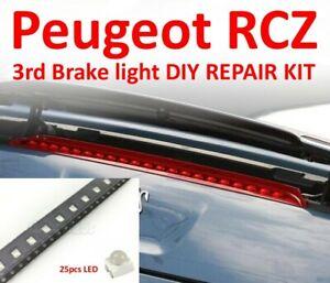 Peugeot RCZ 3rd Brake light 4 REPAIR OPTIONS flickering LED YM40700780 6350KE