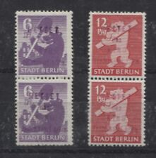 Lokalausgaben Fredersdorf 69-70 postfrische Pärchen Kreidepapier (B05318)