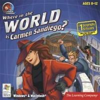 Where in the World is Carmen SanDiego   #1 Geography Software  Explore the World