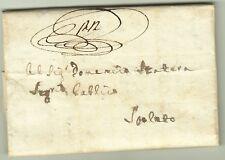 3325-PERIODO NAPOLEONICO, PREF., DA TERNI A SPOLETO, 1806
