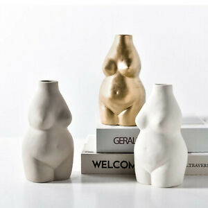 Vase Human Body Female Body Nude Abstract Flower Vase Home Decoration UK