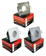 5 / 10er SETS: LED Einbaustrahler AQUA SQUARE 5W 230V Lampen Spot Einbauleuchte