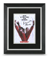 Sir Michael Caine Signed 10x8 Framed Photo Display Escape to Victory Autograph