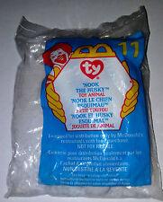 TY McDonald's Teenie Beanie Baby 'NOOK THE HUSKY #11 1999 Series NEW IN PKG