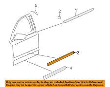 AUDI OEM 04-10 A8 Quattro FRONT DOOR-Body Side Molding Left 4E0853953DGRU