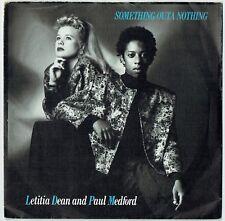 """LETITIA DEAN & PAUL MEDFORD - 7"""" - Something Outa Nothing.  BBC Eastenders"""