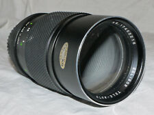 Minolta MD Fit Soligor 200mm f3.5 Telephoto Portrait Lens