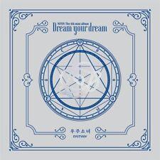 WJSN Cosmic Girls-[Dream Your Dream] 4th Mini Silver Ver CD+Booklet+etc+Pre-Gift