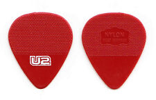 U2 Red Herdim Molded Guitar Pick - 2011 360 Tour Bono Edge