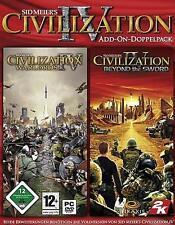 Civilization 4 IV Addon caudillos + Beyond the Sword ** como nuevo