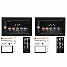 Boss Audio 320W Double DIN In-Dash Car Reciever w/ 6.2 Inch Touchscreen (2 Pack)