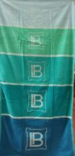 BLUE AQUA GREEN JUMBO BEACH TOWEL 100% EGYPTIAN COTTON 90cm x 170cm MULTI