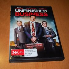 UNFINISHED BUSINESS ( 2015 , DVD REGION 4 ) VINCE VAUGHN