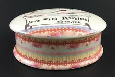 Creative Co-op Curly Girl Powder/Trinket Box by Leigh Standley Reckless Abandon