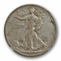 1927 S 50c Walking Liberty Half Dollar NGC XF 45 Extra Fine to AU Better Date