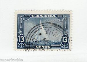 Canada 1935 #216 ** MNH F 13 cent Winnipeg cancel - Royal Yacht Britannia