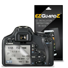6X EZguardz Screen Protector Cover Shield 6X For Canon T1i / 500D (Ultra Clear)
