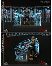 New Arrival TOYS BOX Acrylic Tony Stark Iron Man Workshop Test 1/12 Comicave