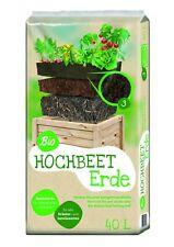 Floragard Bio Hochbeeterde 40 L Kräutererde Gemüseerde Universalerde Hochbeet