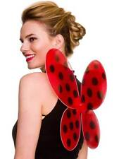 Ladybird Wings Fancy Dress Insect Animal Hen Party Festival Ladybug Butterfly
