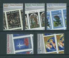 NEW ZEALAND 2010 CHRISTMAS SET OF 5 UNMOUNTED MINT, MNH
