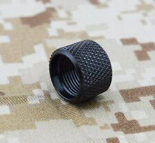 Glock Barrel Thread Protector 1/2x28 Black 9mm 357 Sig 11mm Length Fits Lone Wo